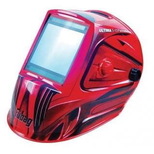 Маска сварочная Хамелеон Fubag Ultima 5-13 Panoramic Red FUBAG