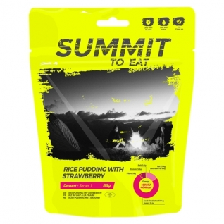 Summit to Eat Пуддинг рисовый с клубникой Summit to Eat