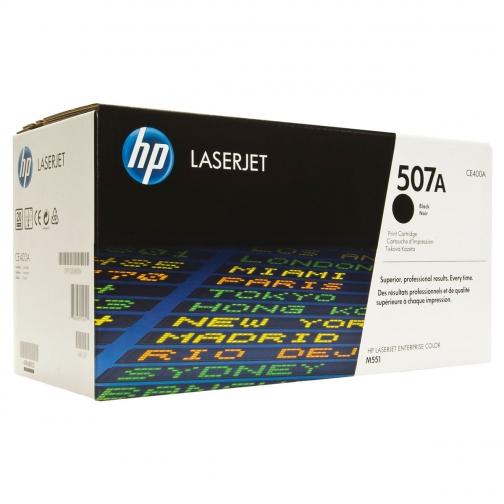 Картридж HP CE400A (507A) для HP CLJ M551, оригинальный, черный, 11000 стр. 7512-01 Hewlett-Packard 851184