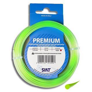 Леска для триммера 1.6 мм Круг алюминиум (15 м) Premium SIAT (Италия) [555002]