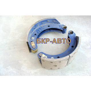 Колодка тормозная МАЗ 54326-3501090/91 две штуки комплект на сторону
