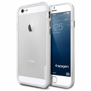 Бампер для iPhone 6 Neo Hybrid EX цвет Satin Silver (SGP11026)