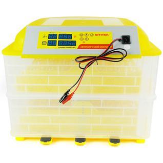 Выводной инкубатор на 96 куриных яиц с термометром, влагомером и автоматическим переворотом SITITEK 96 с автономным питанием 12В 62563