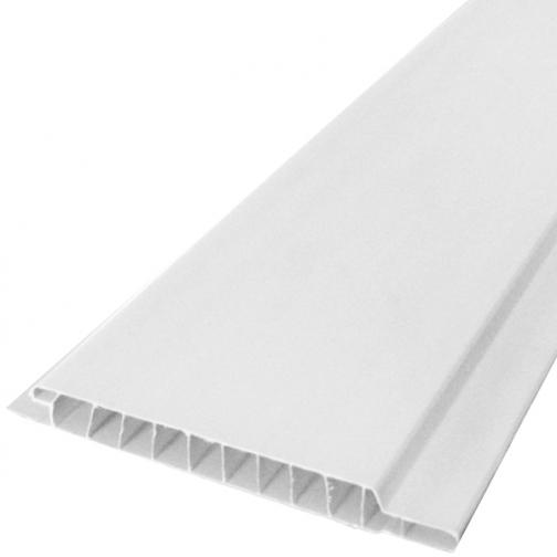 Вагонка ПВХ 3000х100х8мм белая матовая (10шт=3,0м2) / Вагонка ПВХ 3000х100х8мм белая матовая