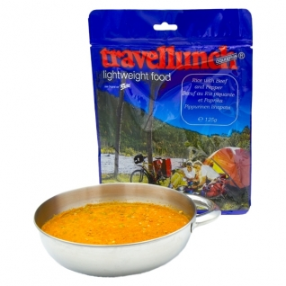 Travellunch Рис Travellunch с говядиной и перцем