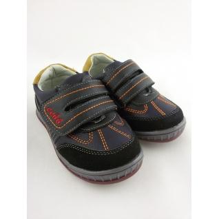 MF-8547 кроссовки черно ораньжевые на липе ) 22-27 (23) Мифёр
