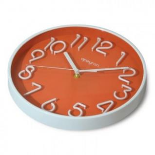 Часы настенные Apeyron PL 9862, пластик,объем.цифры,плавн.ход