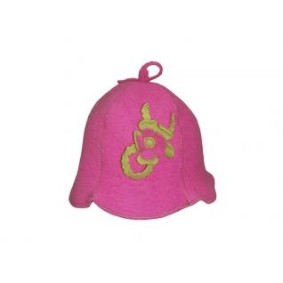 """Шляпка """"Клош"""" розовая"""