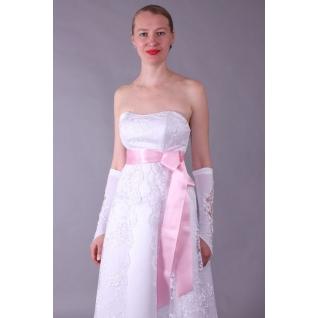 Пояс для платья (65мм, 2,5м), розовый