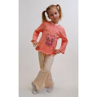 Пижама, детский домашний комплект для девочки Flammber Л029