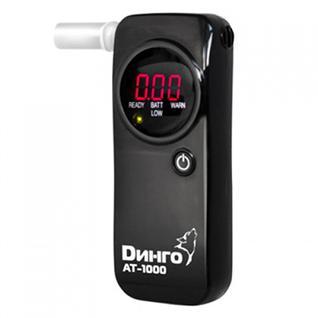 Алкотестер Dingo AT-1000 (черный) (+ Антисептик-спрей для рук в подарок!) Динго