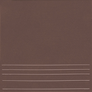 КЕРАМИН Амстердам 4 Ступень керамогранит 298х298мм коричневый (15шт=1,33м2) / КЕРАМИН Амстердам 4 Ступени керамогранит неполированный 298х298х8мм коричневый (упак. 15шт.=1,33 кв.м.)