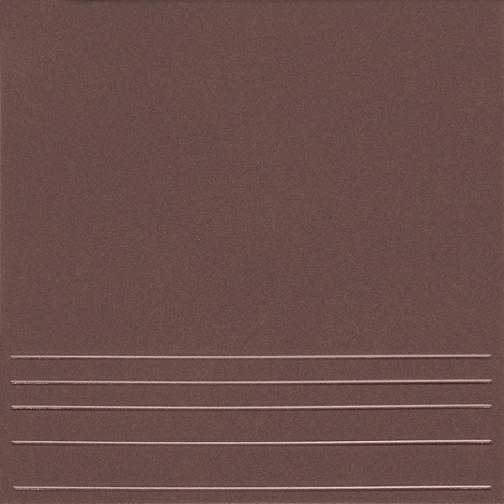 КЕРАМИН Амстердам 4 Ступень керамогранит 298х298мм коричневый (15шт=1,33м2) / КЕРАМИН Амстердам 4 Ступени керамогранит неполированный 298х298х8мм коричневый (упак. 15шт.=1,33 кв.м.) 36983935