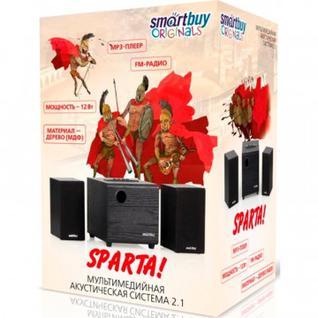 Акустическая система 2.1 SmartBuy SPARTA,MP3,FM,корпусМДФ,черн(SBA-200)