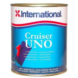 Краска эродирующая необрастающая International Cruiser UNO, 2500 мл темно-белая (10014218)