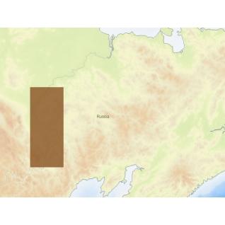 Карта C-MAP MAX-N RS-N500 -Колыма верховье C-MAP