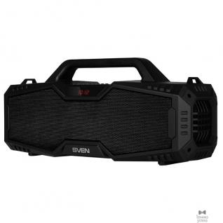 Sven SVEN PS-480, черный (24 Вт, Bluetooth, FM, USB, microSD, LED-дисплей, 2000мА*ч)