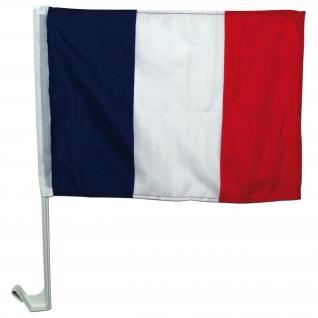 Made in Germany Флаг Франции с пластмассовым креплением на а/м