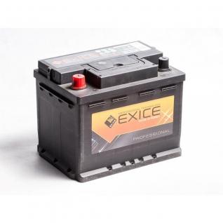 Аккумулятор EXICE 56514 65 Ач PROFESSIONAL прямая полярность - 56514 EXICE (ЭКСИС) 56514