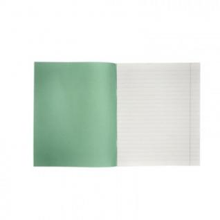 Тетрадь школьная А5,18л,линия,10шт/уп зелёная Маяк Т5018 Т2 ЗЕЛ1Г