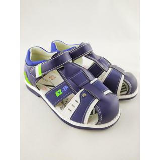 N6086-B сандалии синий для мальчика мышонок 27-32 (32) Мышонок