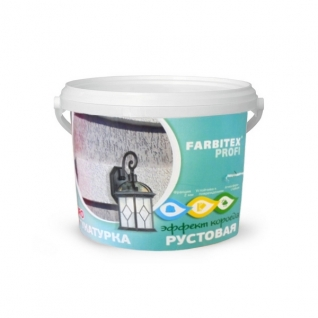 Штукатурка декоративная рустовая FARBITEX ПРОФИ, 25 кг.