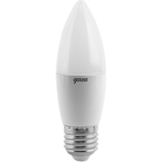 Gauss Лампа Gauss LED Candle E27 6.5W 4100К 1/10/50