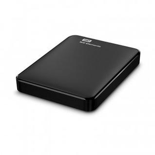 Портативный HDD WD Elements Portable 4Tb 2.5, USB 3.0, WDBW8U0040BBK-EEUE