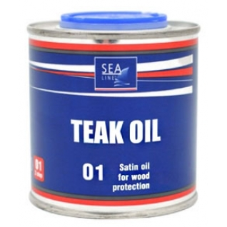 Тиковое масло Sea-Line 0,25л (7604)