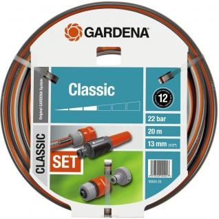 """Шланг Gardena Classic 13 мм (1/2""""), 20 м: комплект"""