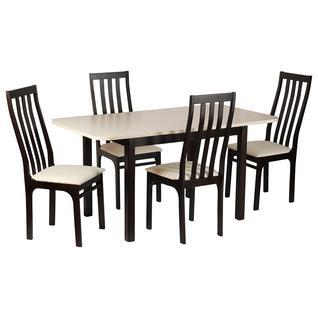 Обеденная группа для столовой и гостиной Mebwill Обеденная группа Франц 3 Стол + 4 стула