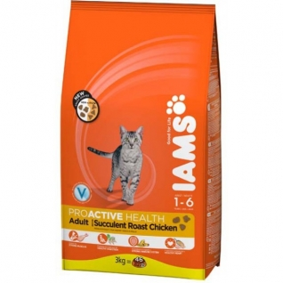 IAMS Iams® ProActive Health™ Adult для кошек с курицей 1,5 кг