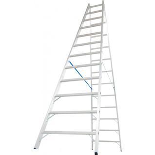 STABILO Двусторонняя лестница с перекладинами, 2х12 перекладин