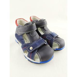 A10630 туфли открытые для мальчика синий Капитошка р.26-31 (28)
