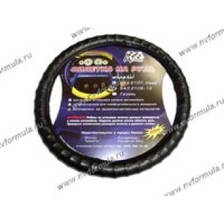 Оплетка на руль Azard 2108-10 черная