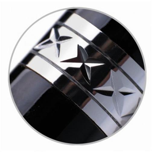 Ручка шариковая PENTEL Sterling B811-A-A авт.черный лак корп 0.4 черн ст.фу 37873863