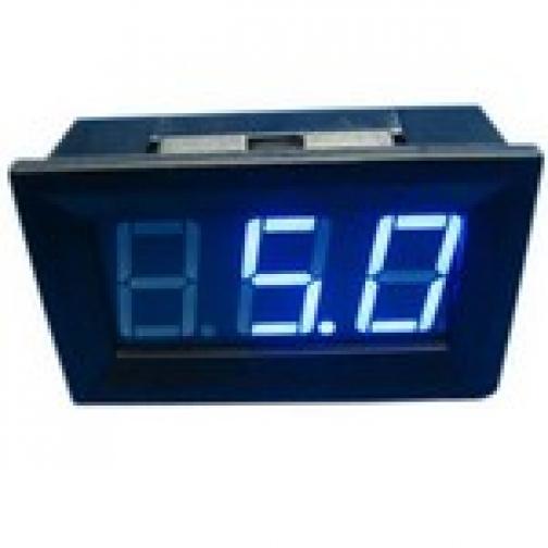 амперметр панель 0-10А синее свечение 863004