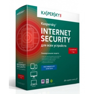 Kaspersky Lab Антивирусная программа Kaspersky Internet Security Multi-Device Russian Ed. 3-Device 1 year Base Box
