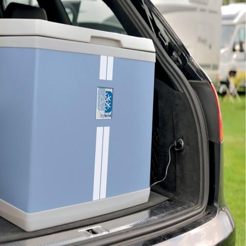 Автохолодильник Mobicool B40 AC/DC Hybrid (компрессор и термоэлектроника, 38л, 12/220В) 36992802