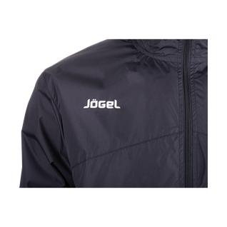 Куртка ветрозащитная Jögel Jsj-2601-061, полиэстер, черный/белый размер XXL