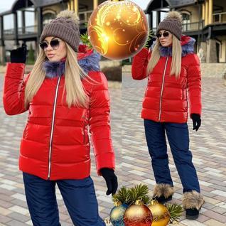 Зимний спортивный костюм лыжник
