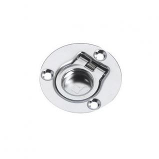 Roca Ручка для пайолов электрополированная Roca 421774 50 мм круглая