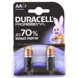 Батарейки Duracell АА/LR6-2BL Professional бл/2 Professional АА/LR6