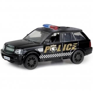"""Инерционная коллекционная машинка Land Rover Range Rover Sport """"Полиция"""", 1:32 RMZ City"""