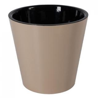 Горшок для цветов Фиджи D 230 мм/5 л шоколадный ING1555ШОК