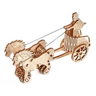 Сборные модели Wooden City Деревянный конструктор 3D Римская колесница