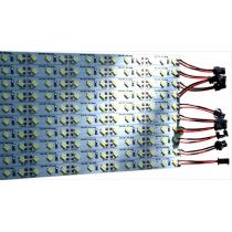 Светодиодные линейки 12 Вольт, 1 метр, 72 светодиода, разьем