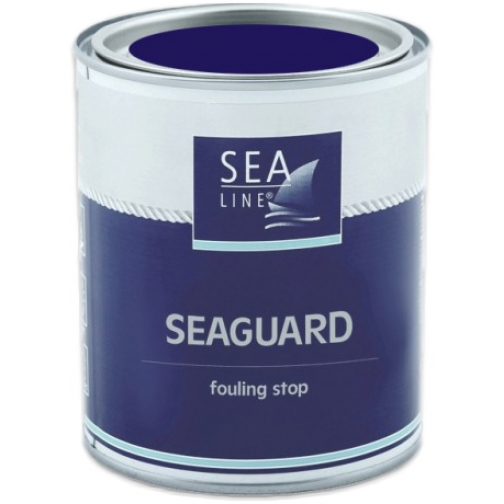 Необрастающая краска (антифоулинг) Sea-Line Seaguard 0,75л синяя (9836) 36993504