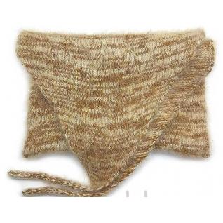 Пояс из собачьей шерсти на завязках