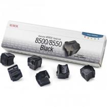 Твердые чернила Xerox 108R00672 для Xerox Phaser 8500, 8550, оригинальные (чёрные, 6 шт, 6000 стр) 8003-01